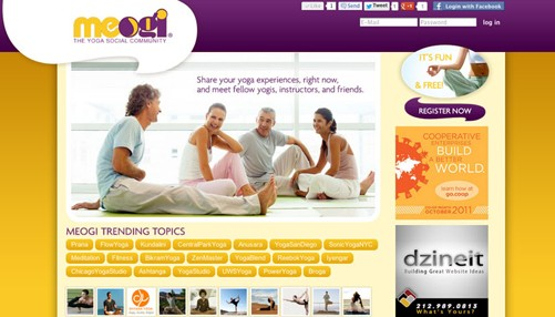 yogo website design