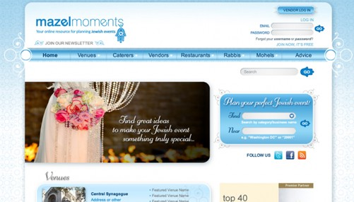 mazelmoments website design company
