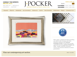 J Pocker website design by dzine it