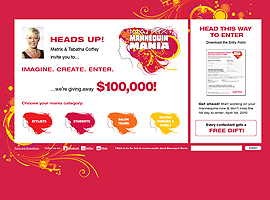 Mannequin Mania website design by dzine it
