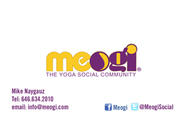 Meogi Business Card
