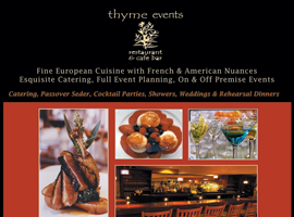 Thyme Events